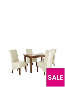 evelyn-120-150-cm-solid-wood-extending-dining-table-4-sienna-chairs