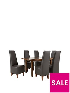 evelyn-120-150cm-solid-wood-extending-dining-table-6-manhattan-chairs