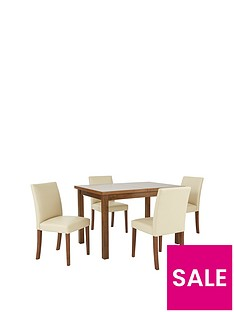 evelyn-120-150cm-solid-wood-extending-dining-table-4-lucca-chairs