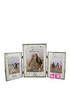 amore-mr-amp-mrs-triple-photo-frame