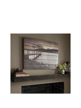 graham-brown-tranquil-jetty-print-on-wood