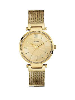 guess-soho-ladies-gold-tone-watch-with-wire-bracelet