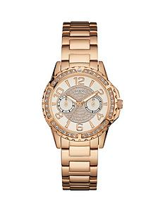 guess-sassy-rose-gold-tone-multifunctional-dial-stone-set-bracelet-ladies-watch