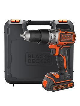 black-decker-black-decker-bl188k-gb-18v-brushless-lithium-ion-combi-hammer-drill