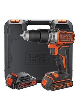 black-decker-black-amp-decker-b188k-gb-18v-lithium-ion-brushless-combi-hammer-drill-x2-batteries