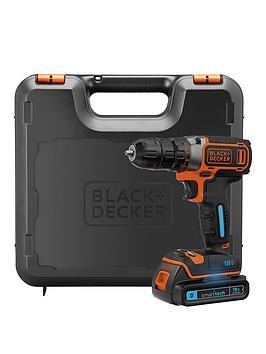 black-decker-bdcdc18kst-gb-18v-li-drill-driver--smart-tech