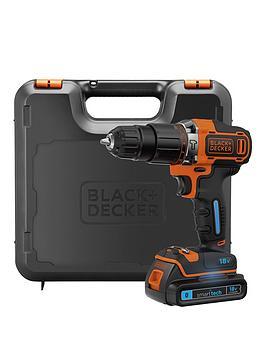 black-decker-bdchd18kst-gb-18v-li-combi-hammer--smart-tech