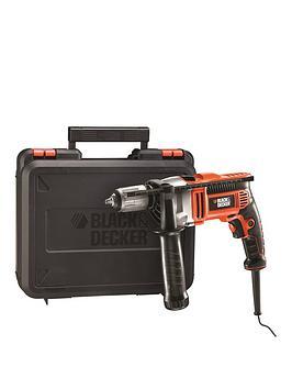 black-decker-kr805k-gb-800w-percussion-hammer-drill