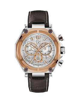 gc-3-sport-silver-case-rose-gold-bezel-silver-dial-with-brown-leather-strap