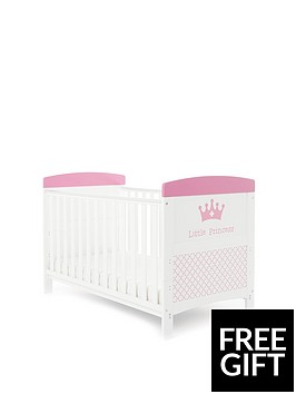 obaby-grace-inspire-little-princess-cot-bed