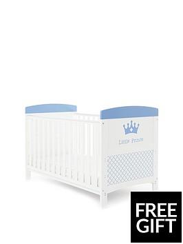 obaby-free-foam-mattress-grace-inspire-little-prince-cot-bednbspamp-foam-mattress