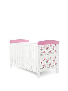 obaby-grace-inspire-cot-bed-ndash-cottage-rose