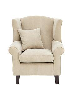 dentonnbspgrace-chenille-fabric-wing-chair
