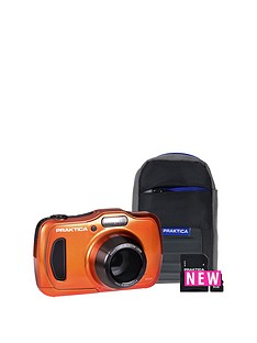 praktica-praktica-luxmedia-wp240-wtprf-orange-camera-kit-inc-8gb-microsd-card-amp-case