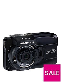 Praktica 10GW Car Dash Camcorder with GPS and Wireless Best Price, Cheapest Prices