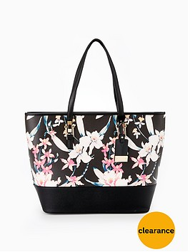miss-selfridge-print-stud-side-tote