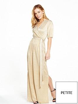 v-by-very-petite-petite-metallic-wrap-maxi-dress