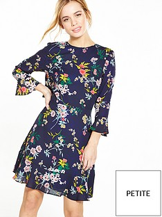 v-by-very-petite-ruffle-back-tea-dress