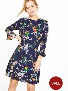 v-by-very-petite-ruffle-back-tea-dress