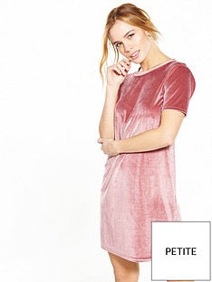 v-by-very-petite-petite-velvet-t-shirt-dress