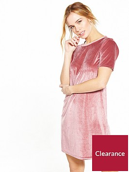 v-by-very-petite-petite-velvet-t-shirt-dress