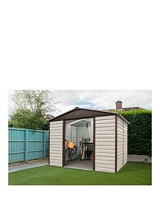 yardmaster-93-x-12-ft-shiplap-metal-shed