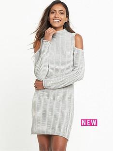 french-connection-french-connection-french-connection-mozart-cold-shoulder-knitted-dress