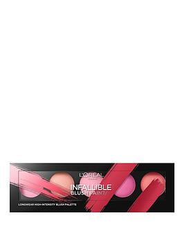 Infallible Paint Blush Palette by L'Oreal #18