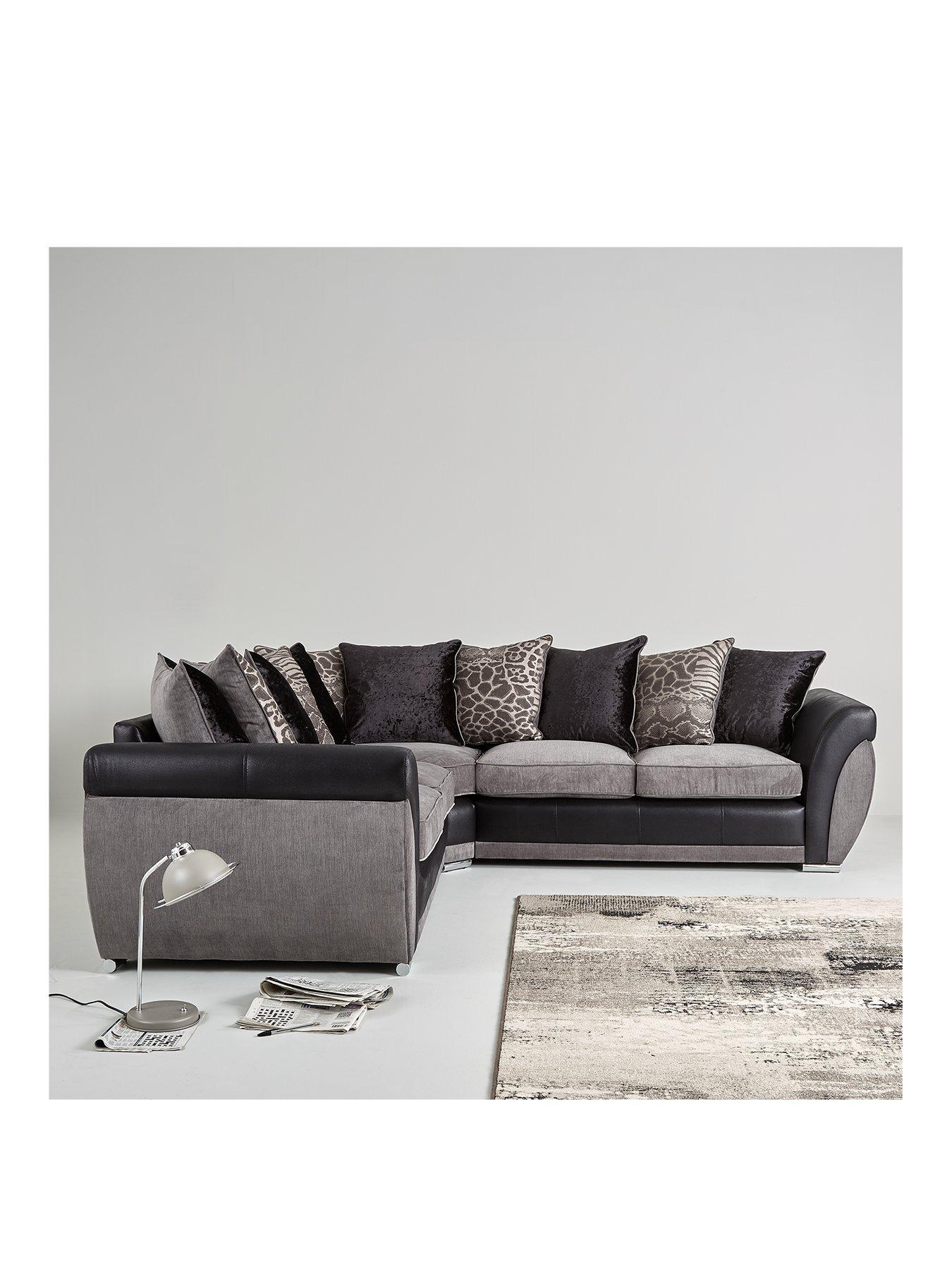 Fabric Sofas | 2,3,4,5 Seater Fabric Sofas | Very.co.uk