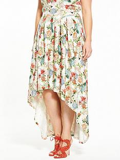 so-fabulous-floral-dipped-hem-co-ord-skirt