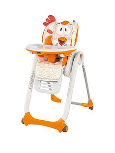 Chicco Chicco Polly 2 Start Highchair - Fancy Chicken