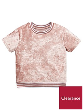 mini-v-by-very-girls-pink-blush-velour-rib-t-shirt