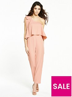 miss-selfridge-petitenbspone-shoulder-jumpsuit-blush