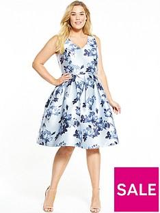 chi-chi-london-curve-floral-print-midi-dress-blue