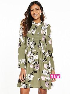 miss-selfridge-sheered-printed-floral-babydoll-dress
