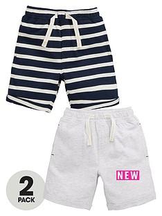 mini-v-by-very-boys-2pk-jersey-stripe-shorts