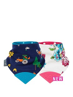 cheeky-chompers-joules-neckerchew-2pk-anna-floral-amp-reyards-farm