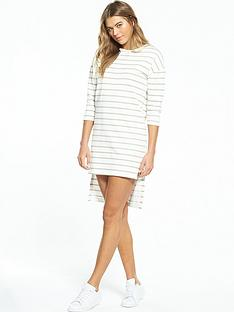 native-youth-breton-dress-with-dropped-hem-whiteoatmeal