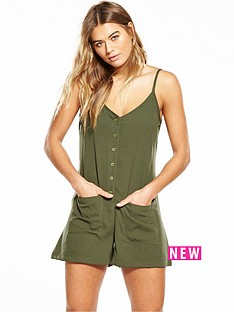 native-youth-native-youth-button-down-strappy-romper