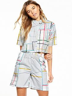 native-youth-spectrum-print-boxy-shirt