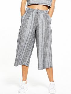 native-youth-grey-striped-culottes
