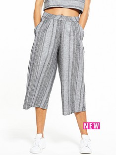 native-youth-native-youth-grey-striped-culottes