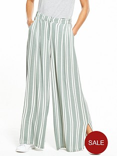 native-youth-striped-wide-leg-pants-with-splits