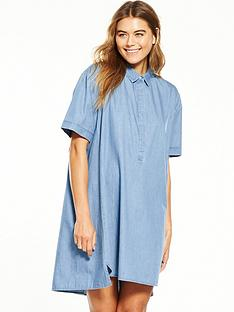 native-youth-vent-denim-shirt-dress