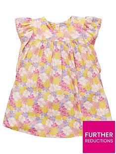 mini-v-by-very-girls-floral-pom-pom-frill-sleeve-dress