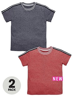 mini-v-by-very-boys-2pk-taped-shoulder-tees