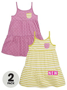 mini-v-by-very-toddler-girls-2pk-stripe-amp-pink-marl-spot-dresses
