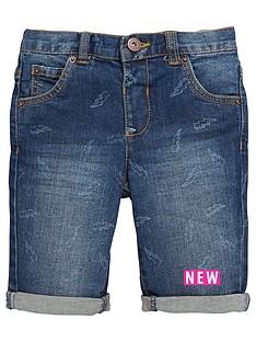 mini-v-by-very-boys-printed-denim-shorts