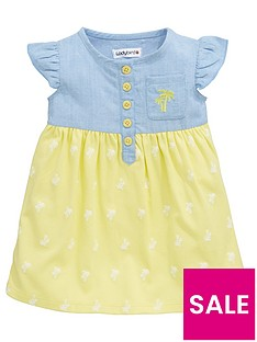 ladybird-baby-girls-chambray-and-jersey-dress