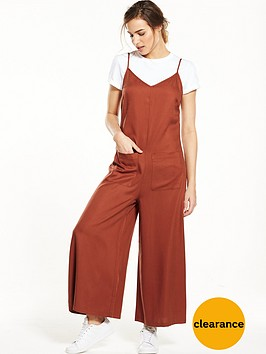 native-youth-patch-pocket-tencel-jumpsuit-rust